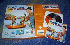 Schiffe bauen mit Willy Werkel PC kpl. DEUTSCH mit Handbuch BIG BOX
