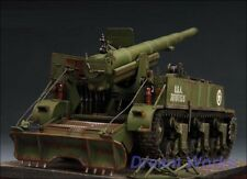 Award Winner Built Academy 1/35 M12 155mm Gun Motor Carriage +Diorama Platform