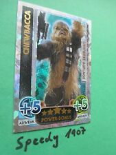 Topps Force Attax Awakens Limited Edition Chewbacca limitiert Erwachen der Macht