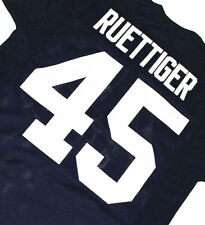RUDY MOVIE JERSEY - NEVER QUIT -  RUETTIGER #45 FOOTBALL  SEWN   NEW   ANY SIZE