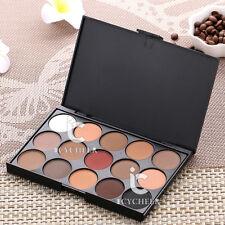 15 Matte Colors Makeup Eyeshadow Palette Eye Shadow Shadding Powder Neutral Warm