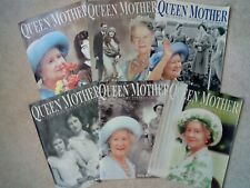 QUEEN MOTHER : AN INTIMATE PORTRAIT : COMPLETE SET OF 6. From The Mail.(A1 Cond)