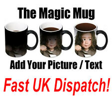 Personalised Heat Colour Changing Magic Mug - Great Birthday / Christmas Gift
