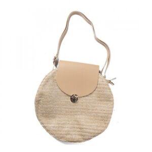Strohtasche Shopper Damen Schultertasche Handtasche