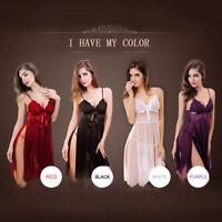Lingerie Lace Dress Babydoll Women Underwear Nightwear Sleepwear Plus Size USA