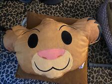 NEW Disney Emoji Plush Simba Pillow