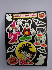 💖Sandylion BIG Abriss Mickey Mouse Glow in the dark Scrapbooking Sticker rar💙
