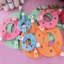 8pcs DIY Essential Pom Pom Maker Fluff Ball Weaver Needle Craft Tool Kit 4 Sizes