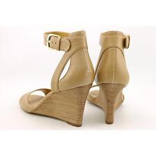 Nine West 7Floyd Women US 6.5 Tan Wedge Sandal Blemish  15865