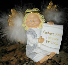 NEW Figi ANGELIC WISHES SISTERS ARE FOREVER FRIENDS ANGEL FIGURINE