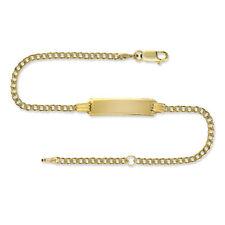 Unbranded 9 Carat Fine Bracelets without Stone