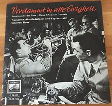 """Heinz Schachtner: Verdammt in alle Ewigkeit Soundtrack ELECTROLA Single Vinyl 7"""""""