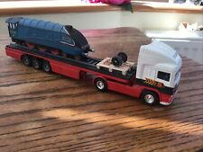 Rare Corgi Eddie Stobart Scania 1.64 Truck Carrying Mallard 4468 Class A4 Train