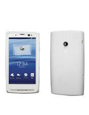 Housse semi rigide blanche mat Sony Ericsson X10 XPERIA