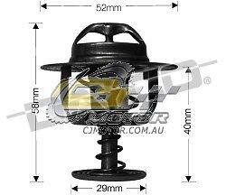 DAYCO Thermostat FOR Mazda Millenia 10/00-5/02 2.3L SV6 24V MPFI TA3P KJ
