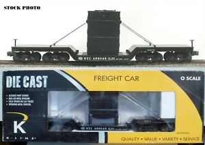 K-Line NYC NEW YORK CENTRAL Depressed Flat Car w/Transformer #499049 K692-1751