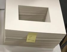 Bulk 100 Pieces Picture Framing Mats 8x10 for 5x7 photo Ivory rectangle opening