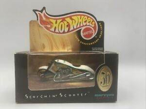 HOT WHEELS MERVYN'S 50th ANNIVERSARY SCORCHIN' SCOOTER 1999 LIMITED EDITION