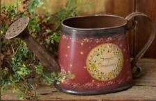VINTAGE PRIMITIVE DECORATIVE WATERING Can--SIMPLE PLEASURES WITH STAR VINE