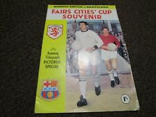 More details for dundee united  v  barcelona (spain)  1966/7 icfc 2nd round - 2nd leg ~ nov 16th