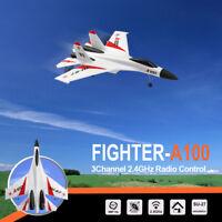 WLtoys A100 SU-27 3CH 2.4G RC Airplane RTF Glider EPP Composite Material Flip Y3