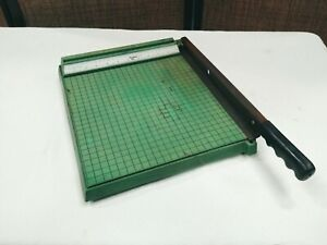 Vintage Premier 12 Inch Paper Trimming Board w Grid