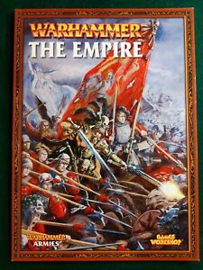 Warhammer Fantasy Battles: The Empire army book (7th Edition) softcover