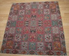 Persian Woven Tapestry Art Silk Termeh Rug Furniture Tablecloth Wall Hanging 1m