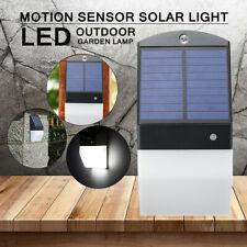 LED Wall Light Radar Sensor Motion Garden Outdoor Lamp Waterproof Sola