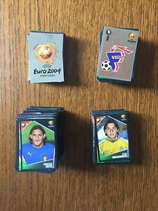 Panini UEFA Euro 2004 Portugal Stickers Pick 10 From List Complete Collection