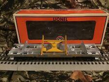 Lionel Southern Pacific Log Dump Car NO LOGS, dump feature not the best 6-37055
