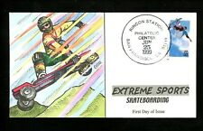 US FDC Collins HP #3321-24 SET OF 4 (Y3001-Y3004) Extreme Sports skateboard 1999