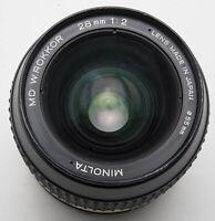Minolta MD W. Rokkor W Rokkor 28mm 28 mm 1:2