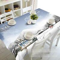 3D Snow View 259 Tablecloth Table Cover Cloth Birthday Party Event AJ WALLPAPER