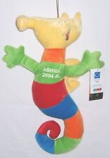 2004 ATHENS SUMMER PARALYMPIC GAMES PLUSH MASCOT PROTEAS RARE 17 INCHES