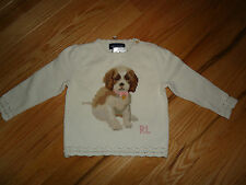 +++nwt  Ralph Lauren 100% Cotton Sweater sz 9M+++