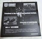 Takara Tomy Transformers Masterpiece MP-4S Convoy Sleep Mode Limited units