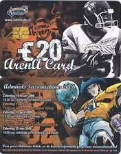 Arenakaart A071-01 20 euro: Amsterdam Admirals 2006