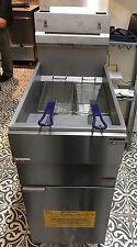 Infernus Gas Floor Standing Chip Fryer 3 Burner Natural Gas, fat fryer