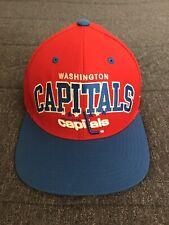 Washington Capitals Throwback Retro Snapback Cap HatMitchell & Ness NHL