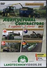 Tractor Farming DVD: AGRICULTURAL CONTRACTORS 5 COUNTRIES - 5 STORIES VOLUME 1