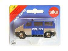 Siku 1350 Polizei-Mannschaftswagen (VW Bus T4) OVP - 5008