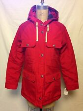Woolrich Womens Advisory Mountain Parka 15194 Red New With Tags