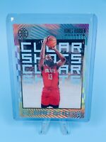 James Harden 2019-20 Panini Illusions Clear Shots Sapphire Acetate Rockets CLEAN