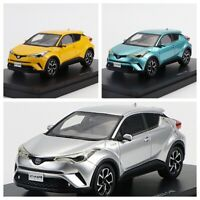 1/43 EBBRO TOYOTA C-HR Diecast Model Car CHR SUV Display Model Collection