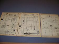 VINTAGE..DHC-3 OTTER & HAWKER H.B.III..7-VIEWS/CROSS SECTIONS...RARE! (727K)