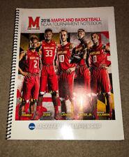 University of Maryland Basketball 2016 NCAA Tournament Notebook Layman Trimble