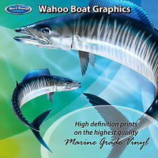 Wahoo Graphics - set of 260mm Boat Graphics