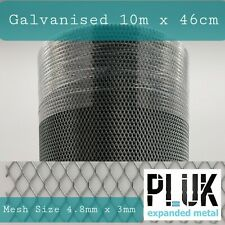 Expanded Galvanised Varroa Mesh National Hive Beekeepers Roll 10m x 46cm 0.5mm