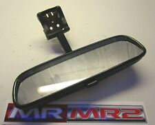 Toyota MR2 MK2 Turbo Black Interior Rear View Roof Mirror - 1989-1999